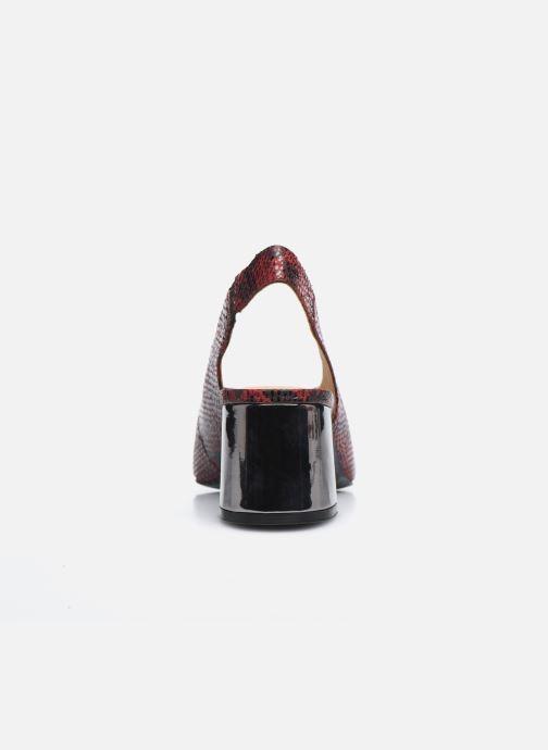 Zapatos de tacón Gioseppo WILNA Vino vista lateral derecha
