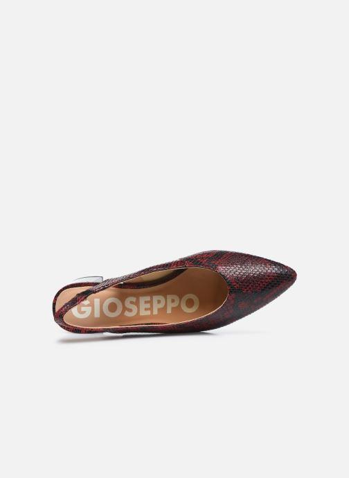 Pumps Gioseppo WILNA weinrot ansicht von links