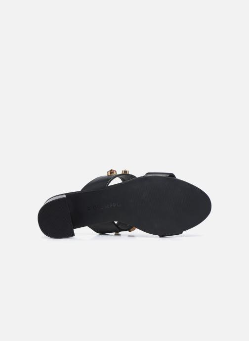 Clogs & Pantoletten Gioseppo BATAVIA schwarz ansicht von oben
