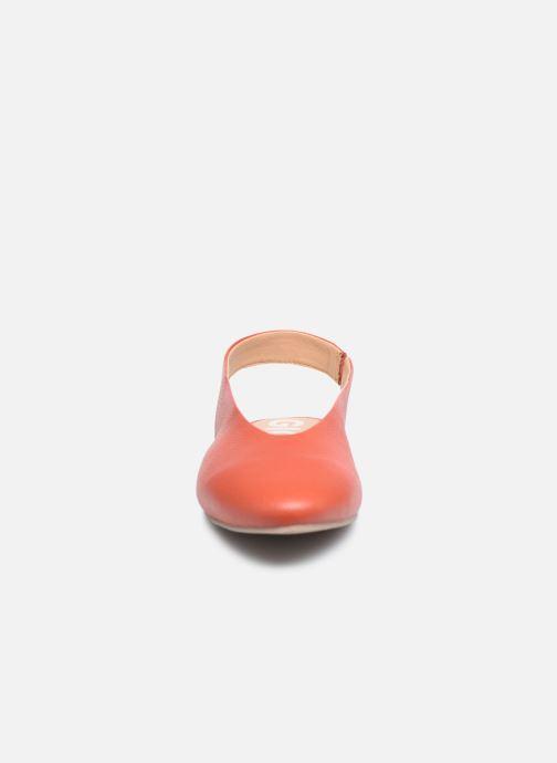 Ballerines Gioseppo ENFIELD Orange vue portées chaussures