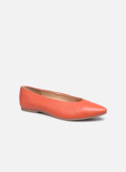 Bailarinas Gioseppo EDENTON Naranja vista de detalle / par