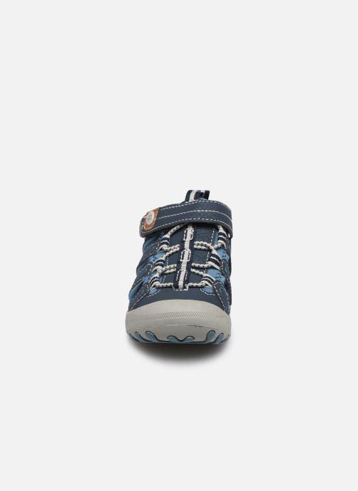 Sandalen Gioseppo 43013 blau schuhe getragen