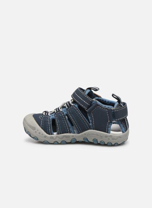 Sandalen Gioseppo 43013 blau ansicht von vorne
