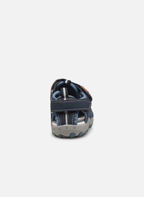 Sandalen Gioseppo 43013 blau ansicht von rechts