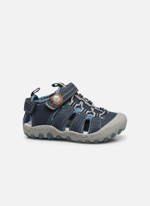 Sandalen Gioseppo 43013 blau ansicht von hinten