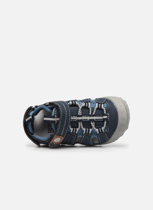 Sandalen Gioseppo 43013 blau ansicht von links