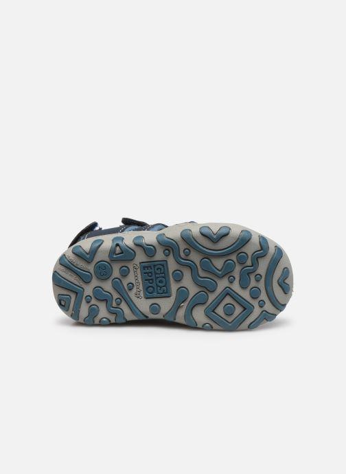 Sandalen Gioseppo 43013 blau ansicht von oben