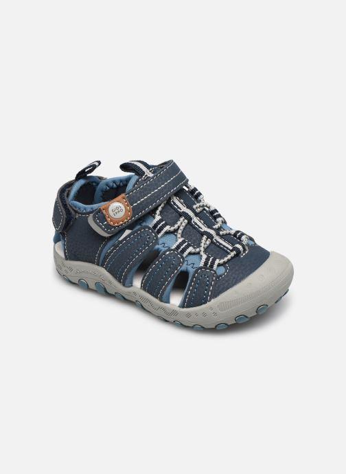 Sandaler Gioseppo 43013 Blå detaljeret billede af skoene