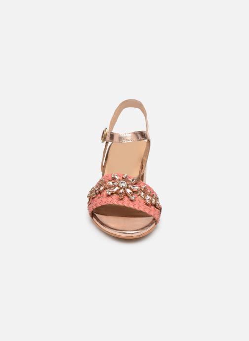 Sandali e scarpe aperte Gioseppo 45344 Rosa modello indossato