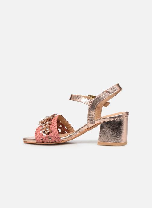 Sandali e scarpe aperte Gioseppo 45344 Rosa immagine frontale