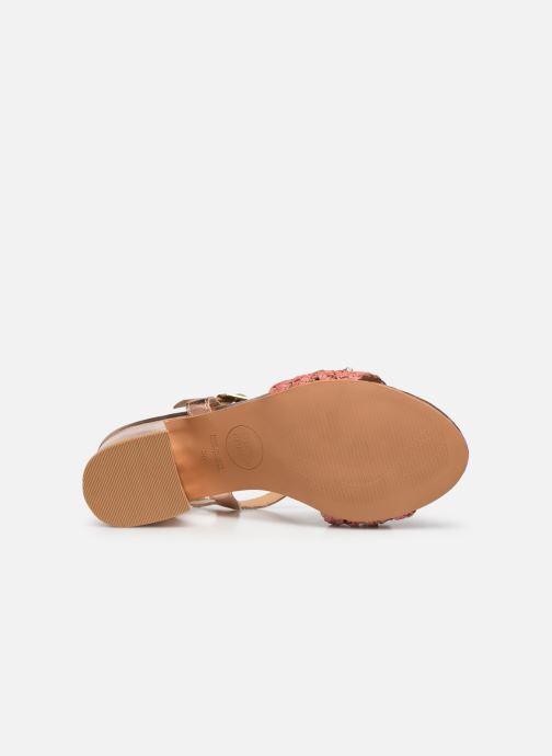 Sandali e scarpe aperte Gioseppo 45344 Rosa immagine dall'alto