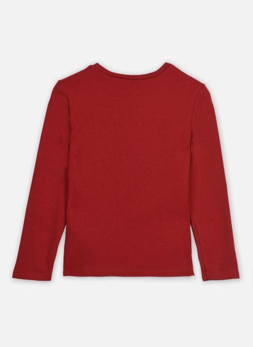 Vêtements IKKS JUNIOR  Sous pull XR10062 Rouge vue portées chaussures