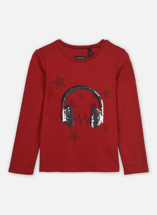 Vêtements IKKS JUNIOR  Sous pull XR10062 Rouge vue détail/paire