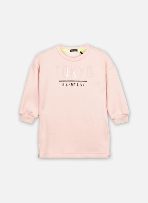 Vêtements IKKS JUNIOR  Robe XR30062 Rose vue détail/paire