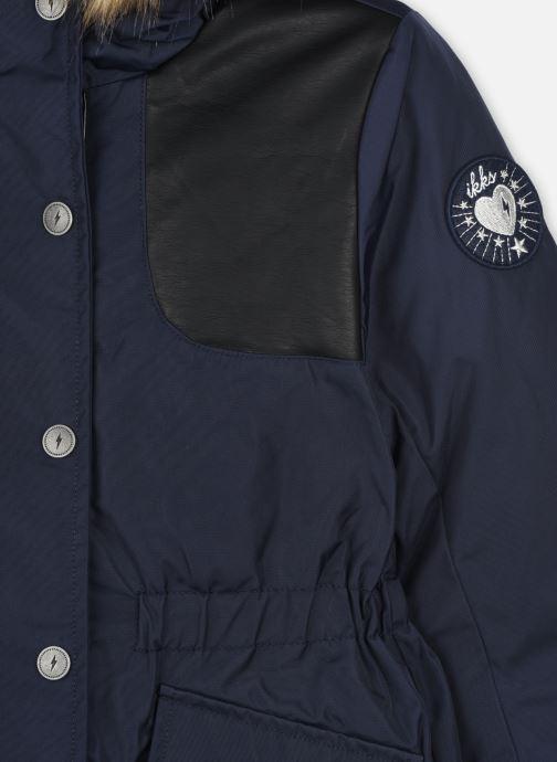 Vêtements IKKS JUNIOR  Parka XR49022 Bleu vue face