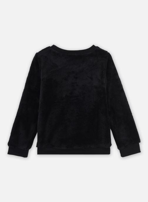 Vêtements IKKS JUNIOR  Sweat XR15042 Noir vue portées chaussures