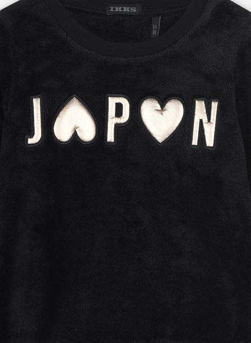 Vêtements IKKS JUNIOR  Sweat XR15042 Noir vue face