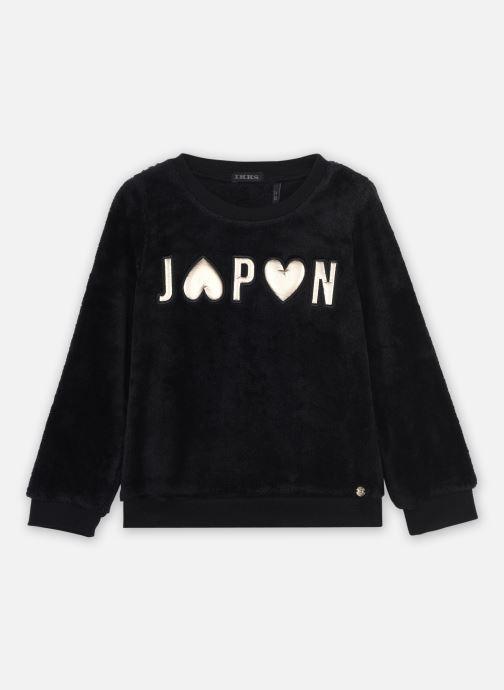 Vêtements IKKS JUNIOR  Sweat XR15042 Noir vue détail/paire