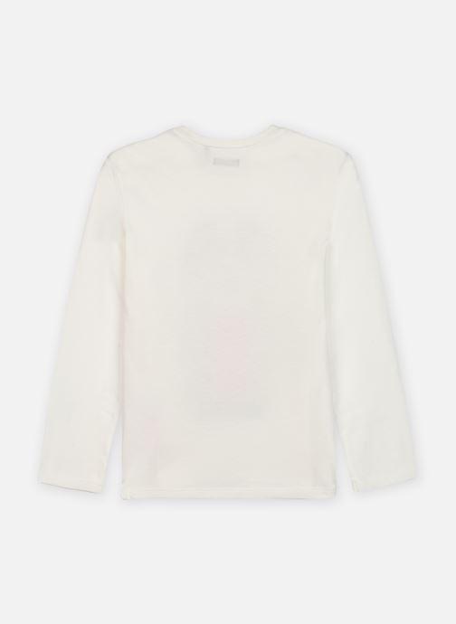 Vêtements IKKS JUNIOR  Sous pull XR10303 Blanc vue portées chaussures
