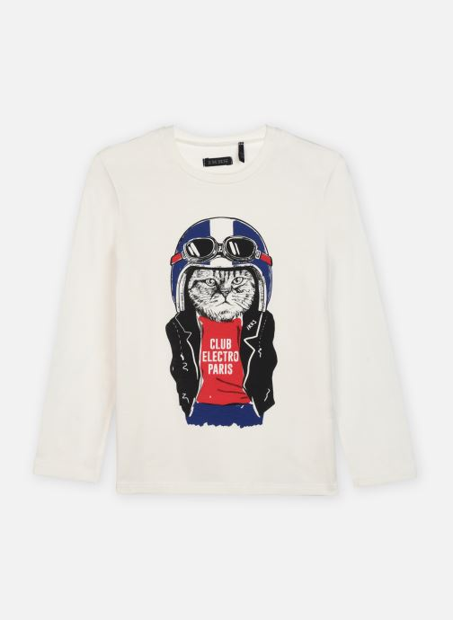Vêtements IKKS JUNIOR  Sous pull XR10303 Blanc vue détail/paire