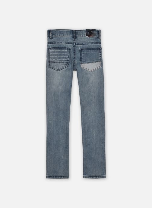 Vêtements IKKS JUNIOR  Jean XR29053 Bleu vue portées chaussures