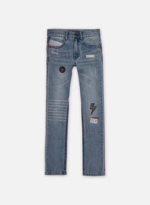 Vêtements IKKS JUNIOR  Jean XR29053 Bleu vue détail/paire