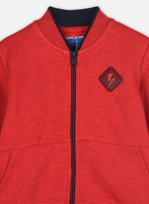Vêtements IKKS JUNIOR  Cardigan XR17023 Rouge vue face