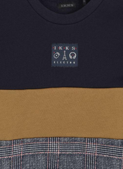 Vêtements IKKS JUNIOR  Sweat XR15013 Bleu vue face