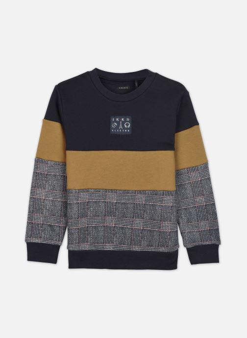 Vêtements IKKS JUNIOR  Sweat XR15013 Bleu vue détail/paire