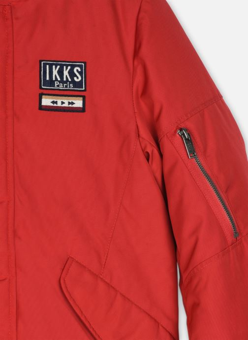 Vêtements IKKS JUNIOR  Parka XR42033 Rouge vue face