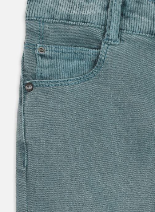 Vêtements IKKS JUNIOR  Jean XR29013 Vert vue face