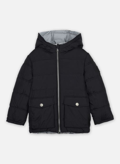 Vêtements IKKS JUNIOR  Doudoune reversible XR41053 Noir vue derrière