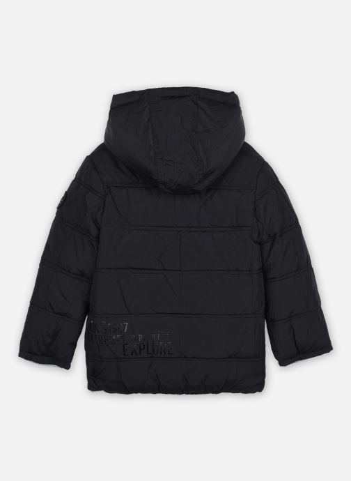Vêtements IKKS JUNIOR  Doudoune reversible XR41053 Noir vue gauche