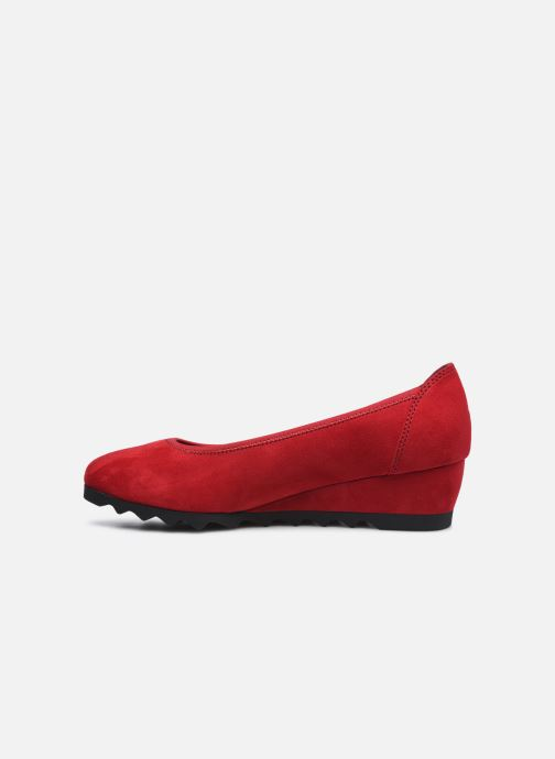 Ballerines Jana shoes Ana Rouge vue face