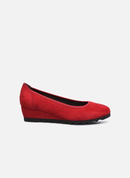 Ballerines Jana shoes Ana Rouge vue derrière