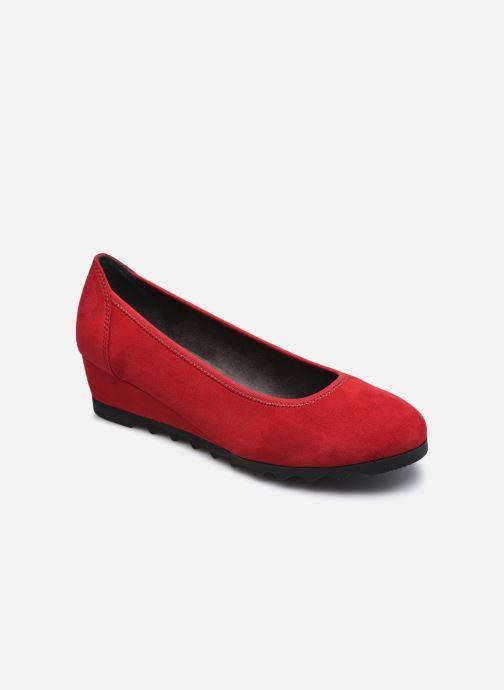 Ballerines Jana shoes Ana Rouge vue détail/paire