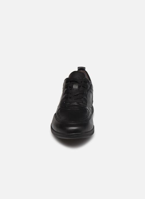 Sneaker Jana shoes Daniam schwarz schuhe getragen