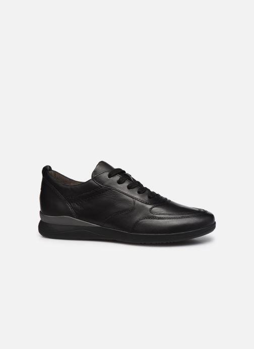 Sneaker Jana shoes Daniam schwarz ansicht von hinten