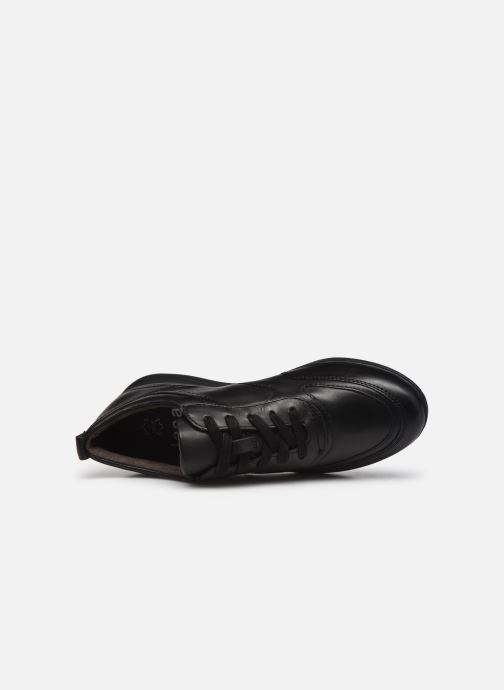 Sneaker Jana shoes Daniam schwarz ansicht von links