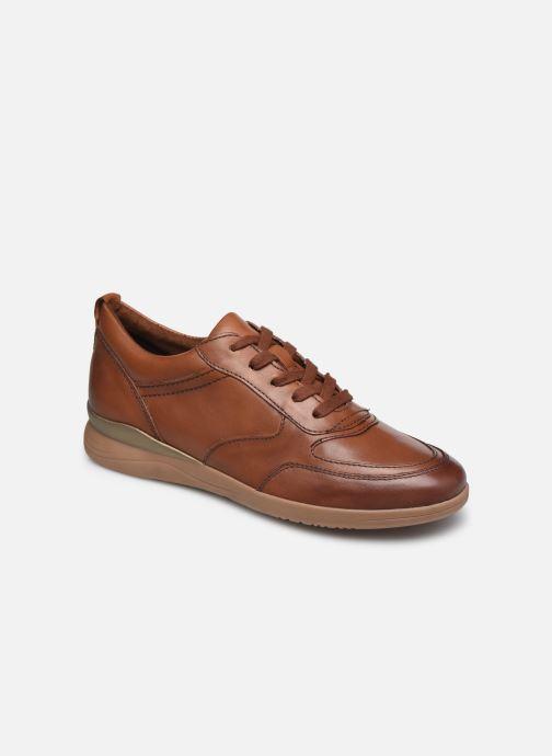 Baskets Jana shoes Daniam Marron vue détail/paire