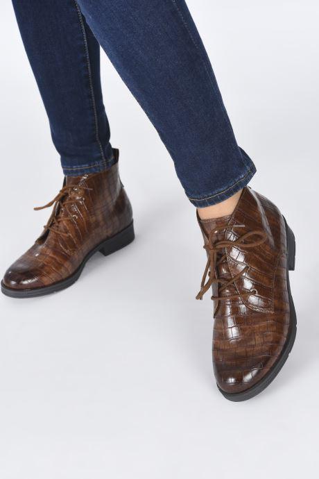 Boots en enkellaarsjes Jana shoes India Bruin onder