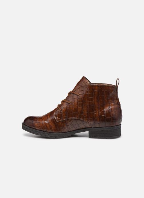 Boots en enkellaarsjes Jana shoes India Bruin voorkant