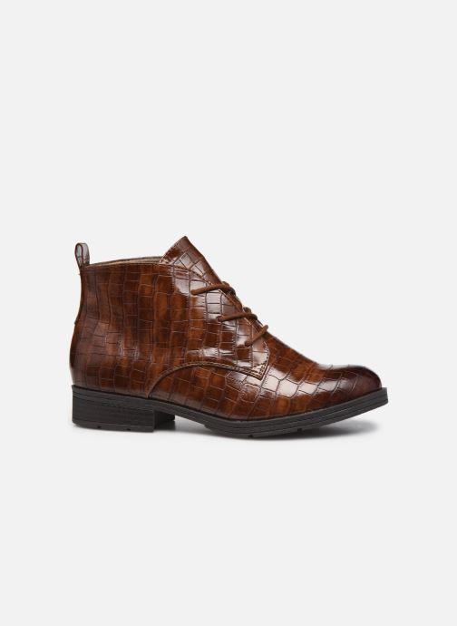 Boots en enkellaarsjes Jana shoes India Bruin achterkant