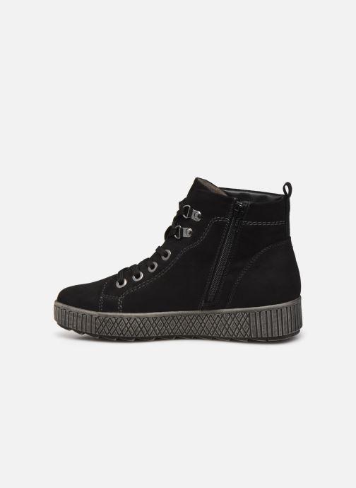 Botines  Jana shoes Miku Negro vista de frente