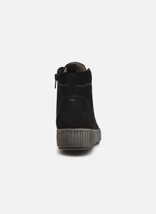 Botines  Jana shoes Miku Negro vista lateral derecha