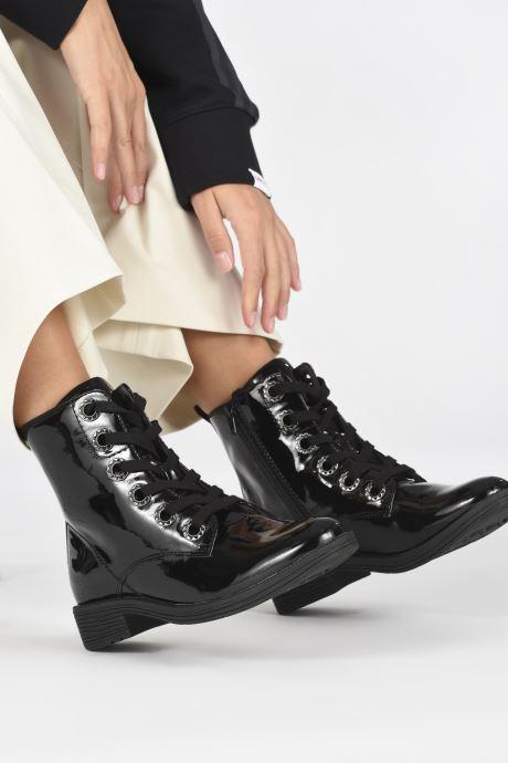 Bottines et boots Jana shoes Serio Noir vue bas / vue portée sac