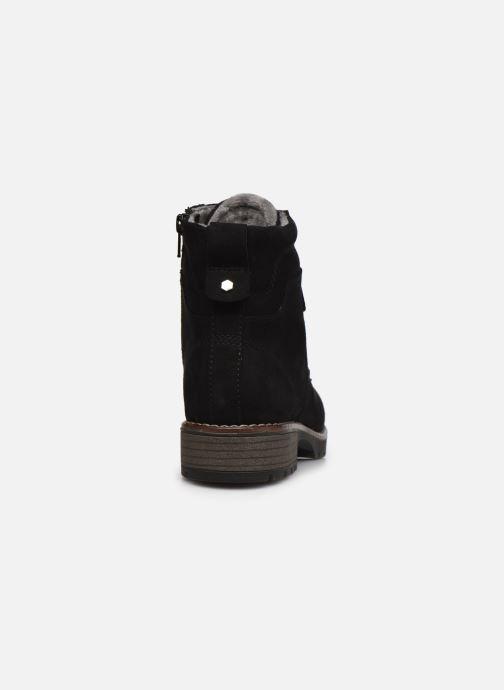 Botines  Jana shoes Jilifi Negro vista lateral derecha
