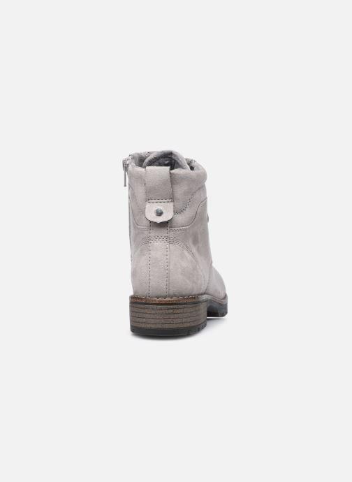 Botines  Jana shoes Jilifi Gris vista lateral derecha