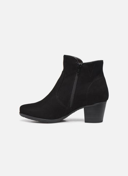 Botines  Jana shoes Dian Negro vista de frente