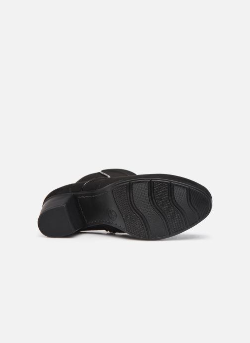 Botines  Jana shoes Dian Negro vista de arriba